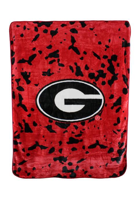 College Covers NCAA Georgia Bulldogs Huge Raschel Throw