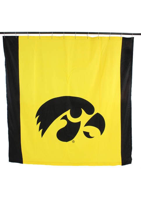 College Covers NCAA Iowa Hawkeyes Big Logo Shower