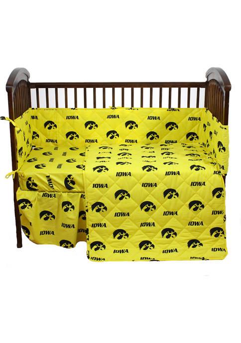 College Covers NCAA Iowa Hawkeyes 5 Piece Baby