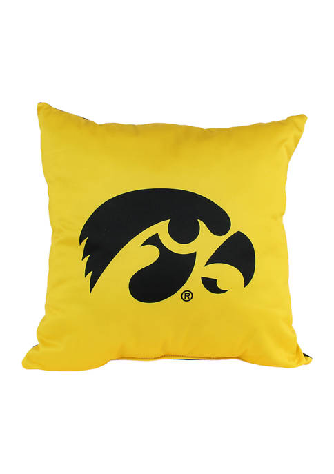 College Covers NCAA Iowa Hawkeyes Decorative Pillow