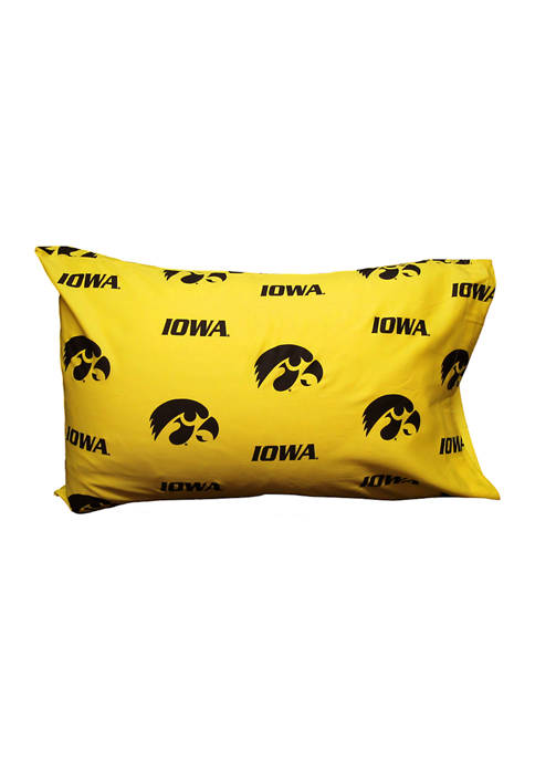 College Covers NCAA Iowa Hawkeyes Standard Pillowcase