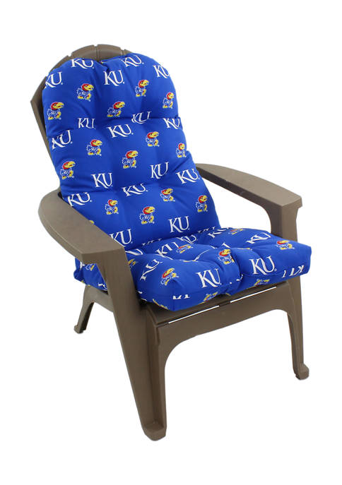 NCAA Kansas Jayhawks Adirondack Chair Cushion