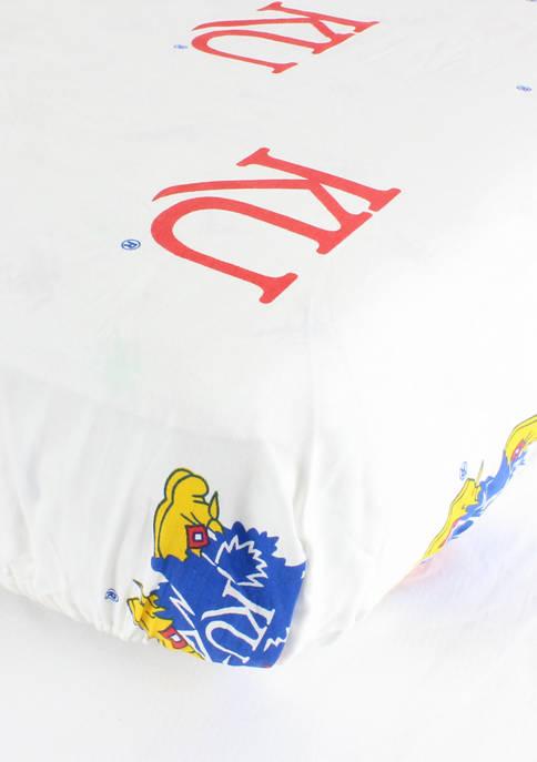 College Covers NCAA Kansas Jayhawks White Baby Crib