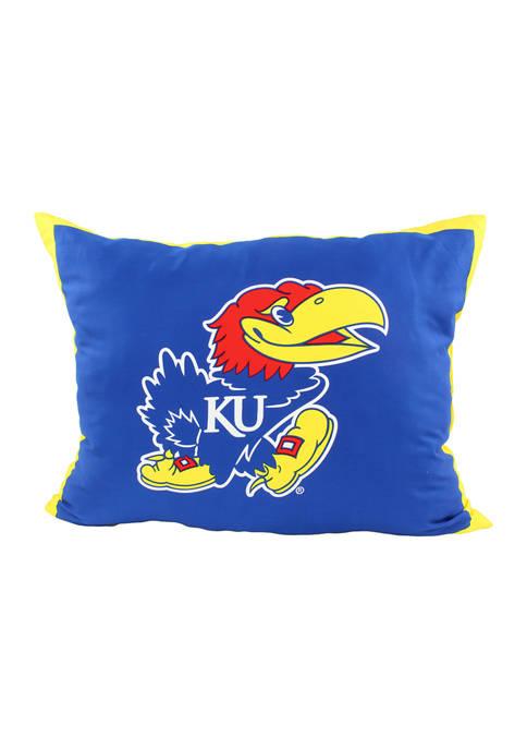 NCAA Kansas Jayhawks Fully Stuffed Big Logo Pillow