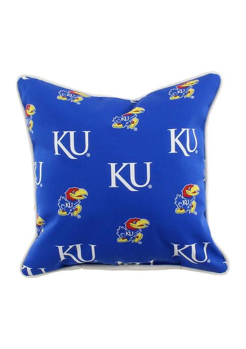 NCAA Kansas Jayhawks Decorative Pillow