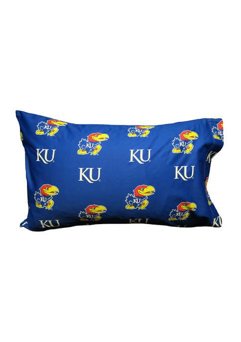 College Covers NCAA Kansas Jayhawks King Pillowcase