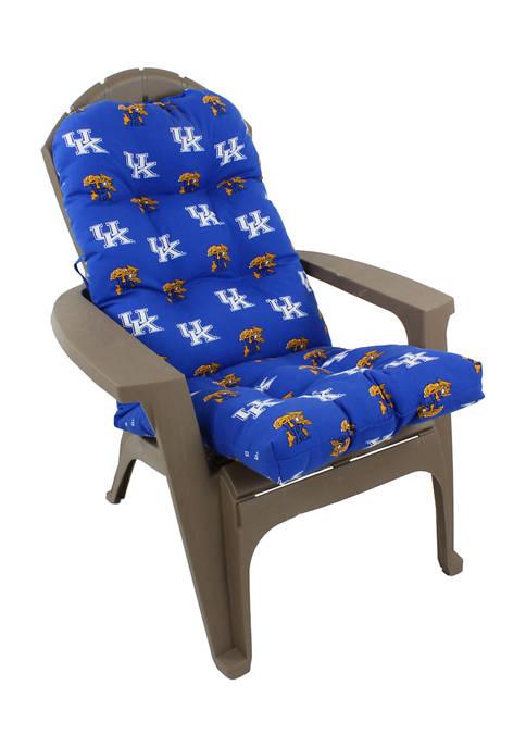 NCAA Kentucky Wildcats Adirondack Chair Cushion