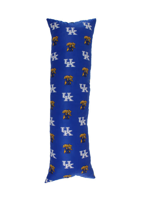 College Covers NCAA Kentucky Wildcats Printed Body Pillow