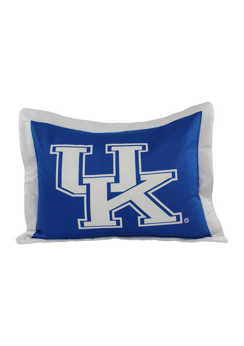 College Covers NCAA Kentucky Wildcats Printed Pillow Sham