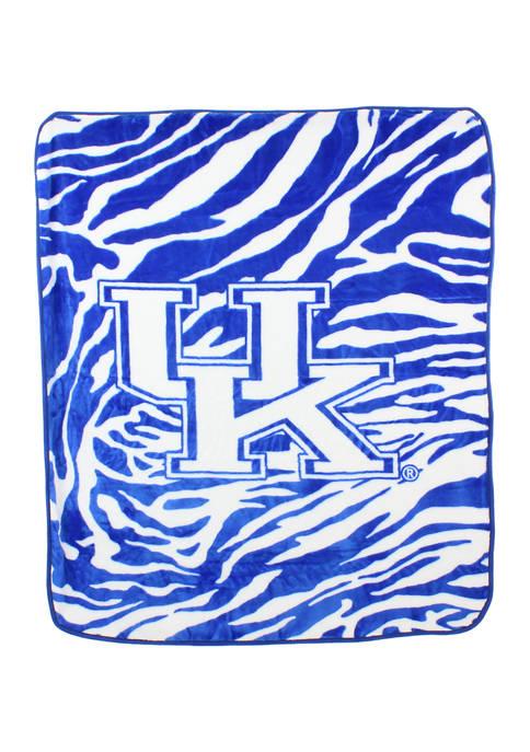 College Covers NCAA Kentucky Wildcats Soft Raschel Throw