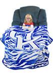 NCAA Kentucky Wildcats Soft Raschel Throw Blanket