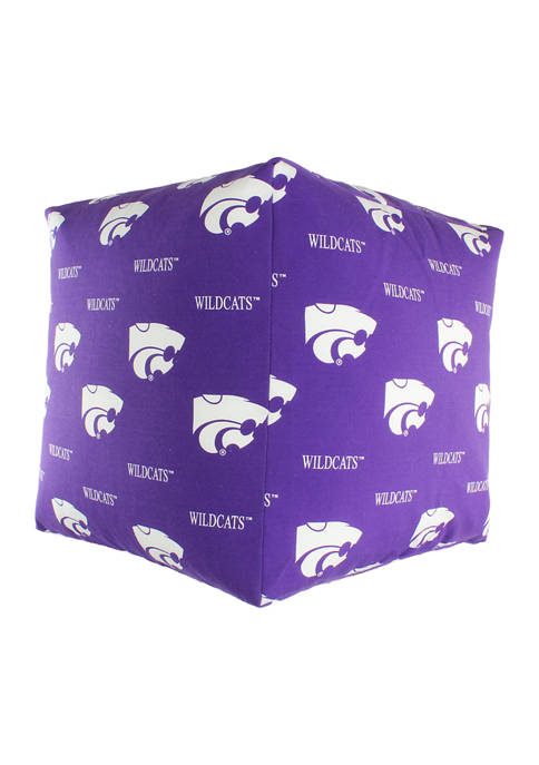 College Covers NCAA Kansas State Wildcats Cubed Bean
