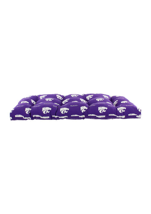 College Covers NCAA Kansas State Wildcats Settee Cushion