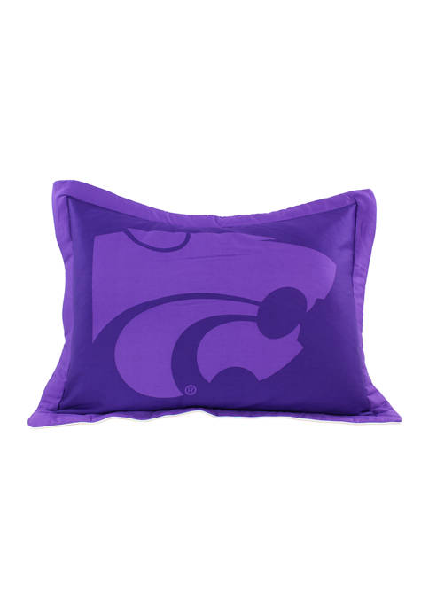 College Covers NCAA Kansas State Wildcats Printed Pillow
