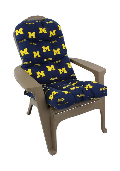 College Covers NCAA Michigan Wolverines Adirondack Chair Cushion