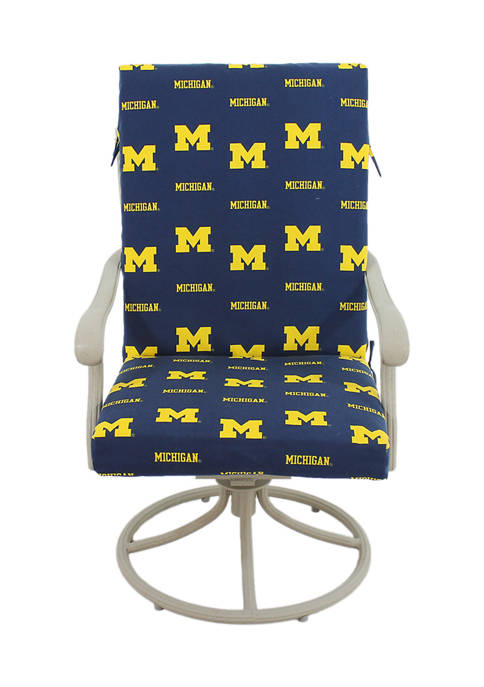 College Covers NCAA Michigan Wolverines 2 Piece Chair