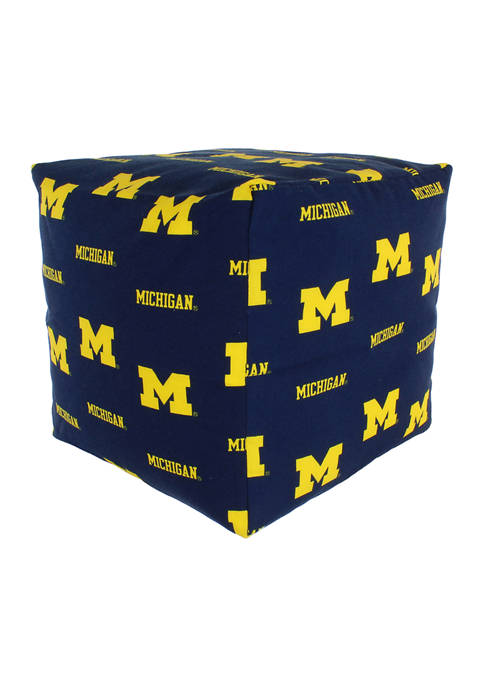 College Covers NCAA Michigan Wolverines Cubed Bean Bag