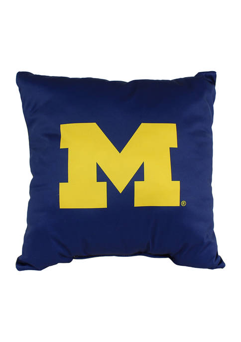 College Covers NCAA Michigan Wolverines Decorative Pillow