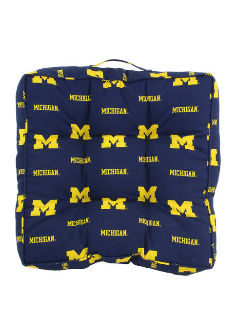 College Covers NCAA Michigan Wolverines Floor Pillow