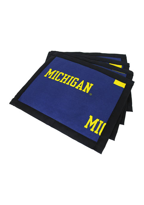 College Covers NCAA Michigan Wolverines Set of 4