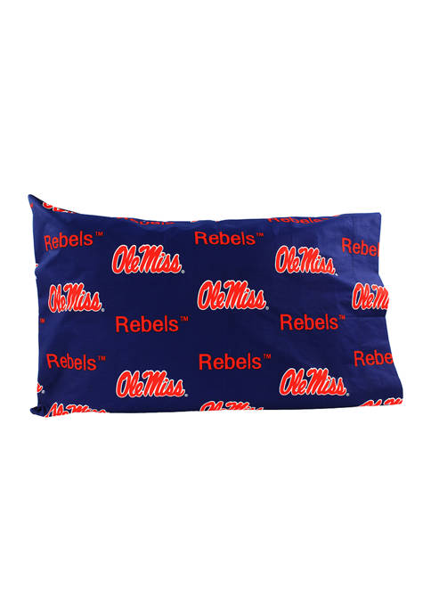 College Covers NCAA Ole Miss Rebels King Pillowcase