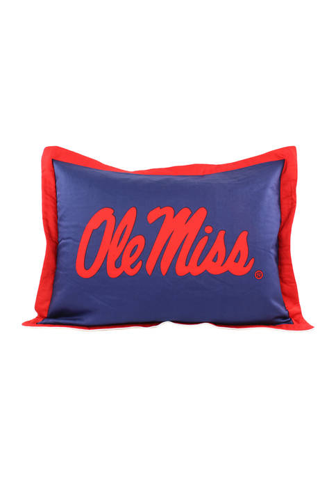 College Covers NCAA Ole Miss Rebels Printed Pillow