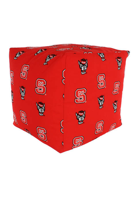 College Covers NCAA NC State Wolfpack Cubed Bean