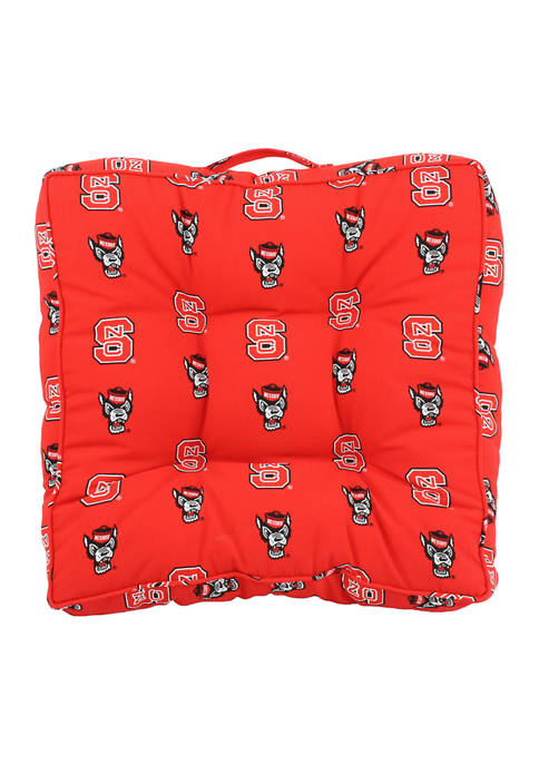 College Covers NCAA NC State Wolfpack Floor Pillow