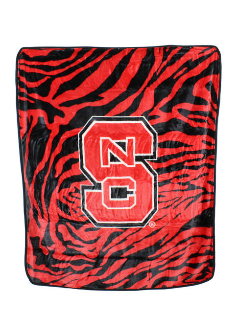 College Covers NCAA NC State Wolfpack Soft Raschel