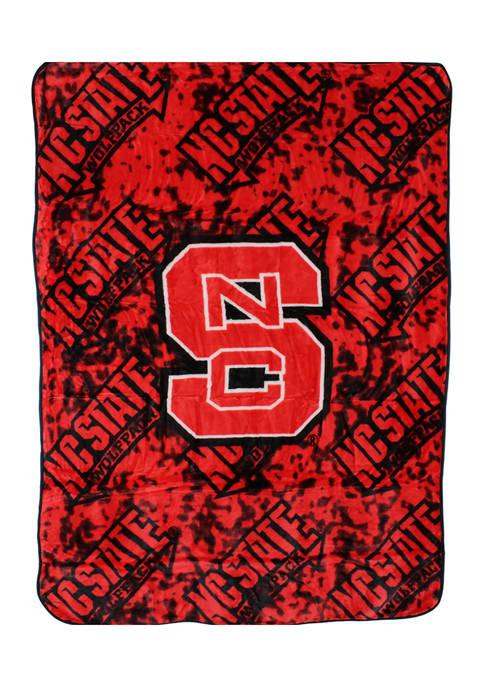College Covers NCAA NC State Wolfpack Huge Raschel