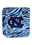 NCAA North Carolina Tar Heels Soft Raschel Throw Blanket