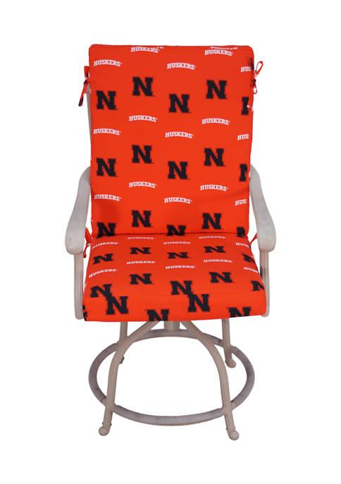 College Covers NCAA Nebraska Cornhuskers Chair Cushion