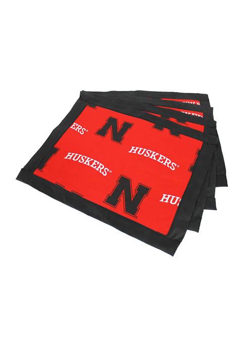 College Covers NCAA Nebraska Cornhuskers Set of 4