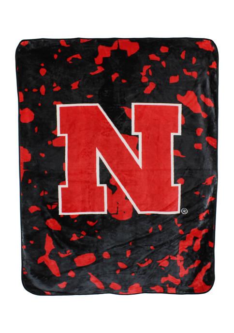 College Covers NCAA Nebraska Cornhuskers Huge Raschel Throw