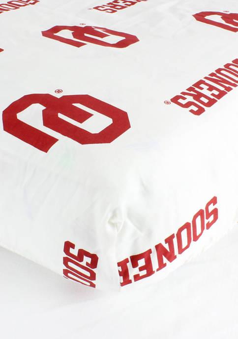 College Covers NCAA Oklahoma Sooners White Baby Crib