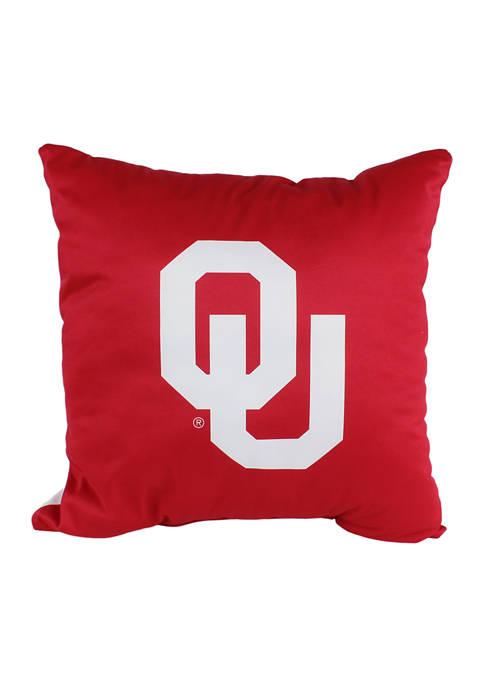 NCAA Oklahoma Sooners Decorative Pillow