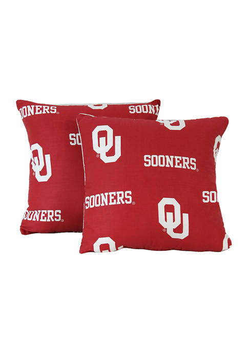 College Covers NCAA Oklahoma Sooners Decorative Pillow