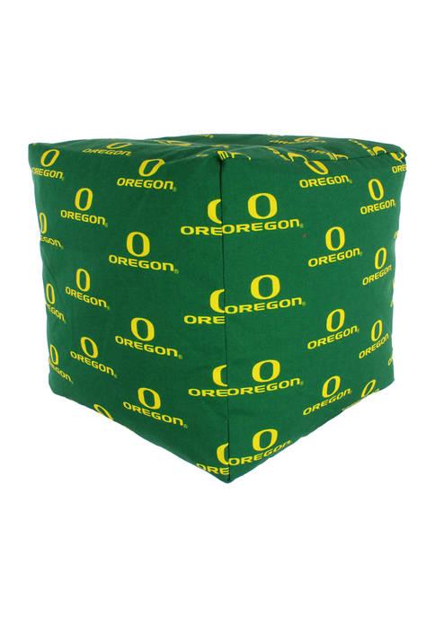 NCAA Oregon Ducks Cubed Bean Bag Pouf