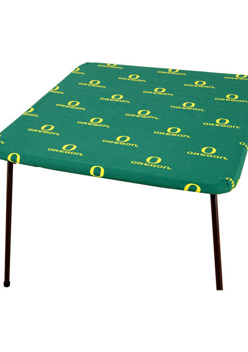 NCAA Oregon Ducks Tailgate Fitted Tablecloth