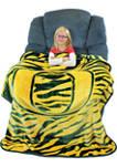 NCAA Oregon Ducks Soft Raschel Throw Blanket