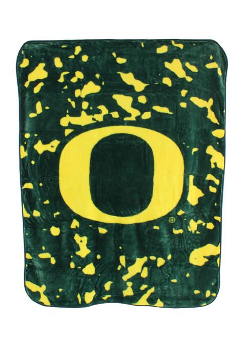College Covers NCAA Oregon Ducks Huge Raschel Throw