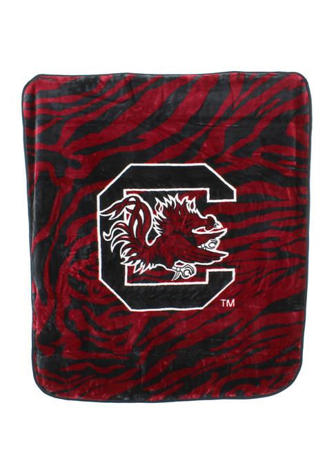 College Covers NCAA South Carolina Gamecocks Soft Raschel