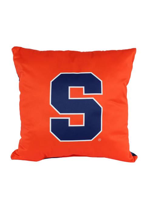 College Covers NCAA Syracuse Orange Decorative Pillow
