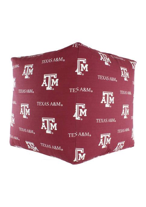 College Covers NCAA Texas A&M Aggies Cubed Bean