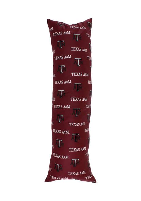 NCAA Texas A&M Aggies Printed Body Pillow