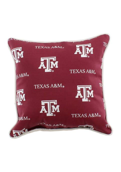 NCAA Texas A&M Aggies Decorative Pillow