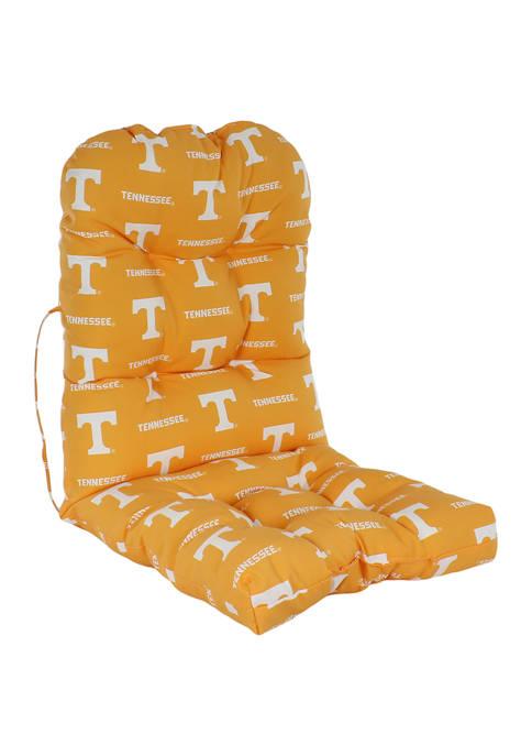 NCAA Tennessee Volunteers Adirondack Chair Cushion