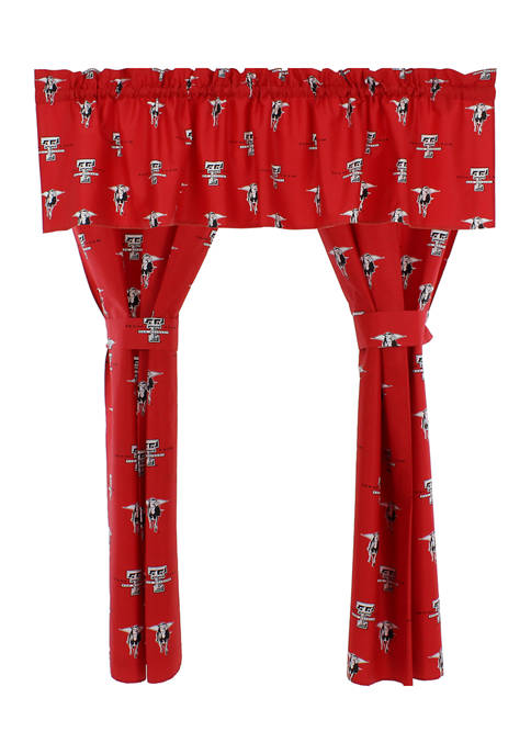 College Covers NCAA Texas Tech Red Raiders Printed