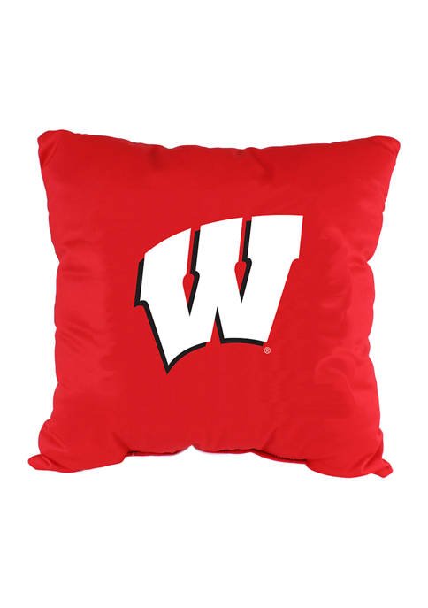 College Covers NCAA Wisconsin Badgers Decorative Pillow