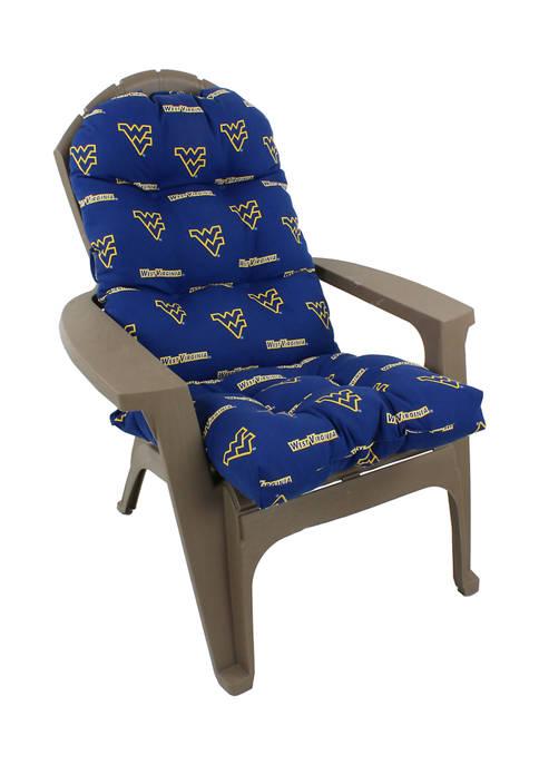 NCAA West Virginia Mountaineers Adirondack Chair Cushion